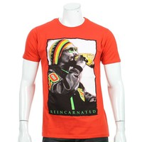 Tee Shirt Monsterpiece SN03 Rouge Rasta - LaBoutiqueOfficielle.com