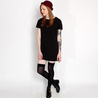 Hearts and Bows Black Esme Tunic Dress