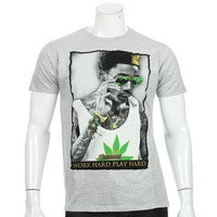 Tee Shirt Monsterpiece KH12 Gris Chiné Vert - LaBoutiqueOfficielle.com