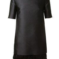 STELLA MCCARTNEY BLACK STRAIGHT CUT DRESS