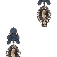 Boutique 1 - EK THONGPRASERT - Blue Royale Earrings | Boutique1.com