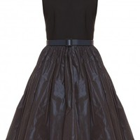Boutique 1 - MARTIN GRANT - Black Taffeta Dress | Boutique1.com