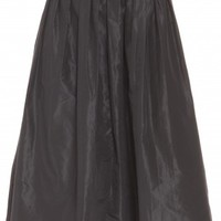 Boutique 1 - RAOUL - Black Garden Taffeta Skirt | Boutique1.com