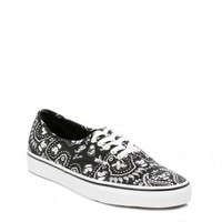 VANS MENS STAR WARS BLACK STORMTROOPER TRAINERS
