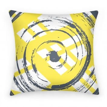 Brush Swirl Pillow