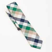 Croft & Barrow® Cotton Buffalo Check Tie - Men