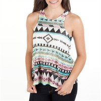 Moa Moa Juniors Printed Racerback Tank at Von Maur