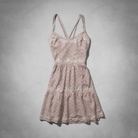 Benni Embroidered Lace Dress