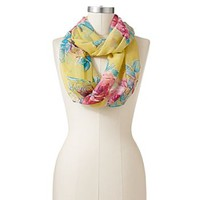 Manhattan Accessories Co. Floral Sheer Infinity Scarf