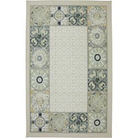 Medallion Border Rug