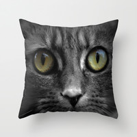 Mila  Throw Pillow by  Alexia Miles photography