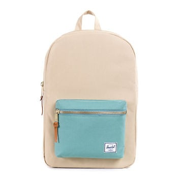 Herschel Supply Settlement Khaki & Seafoam 20L Backpack