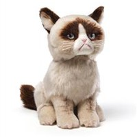 "Grumpy Cat 8"" Plush"
