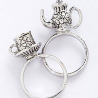 ModCloth Fairytale Crumpet Course Ring Set