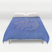 simba Duvet Cover by studiomarshallarts