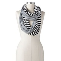 SO® Striped Infinity Scarf