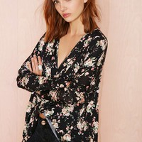 Nasty Gal Turn It Loose Top - Floral