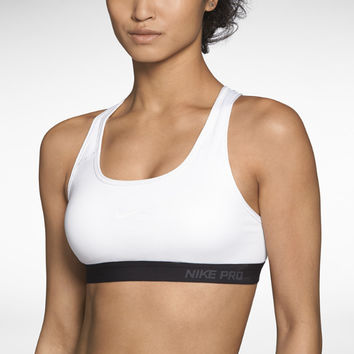 Nike Pro Padded Women's Sports Bra - White