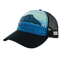 The Girl and The Water - Billabong - Surfin Dreamz Trucker Hat / Black