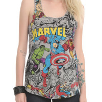 Marvel Comic Color Pop Girls Tank Top