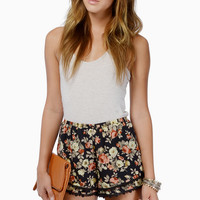 Double The Tier Shorts $36