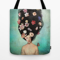The Botanist's Daughter Tote Bag by Christian Schloe