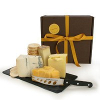 igourmet's Favorites - 4 Cheese Sampler in Gift Box (3.2 pound) by igourmet
