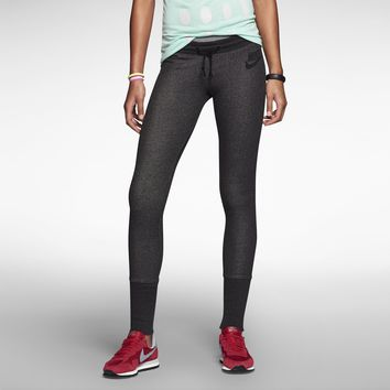 Nike District 72 Tight Fit Women's Pants - Black Heather