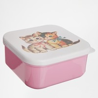 Gifts | Square Kitten Lunch Box at ASOS