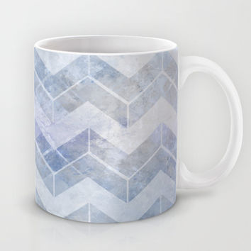 abstract pattern blue Mug by VanessaGF
