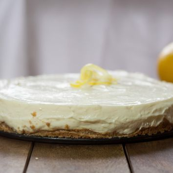 No-Bake Lemon Cheesecake