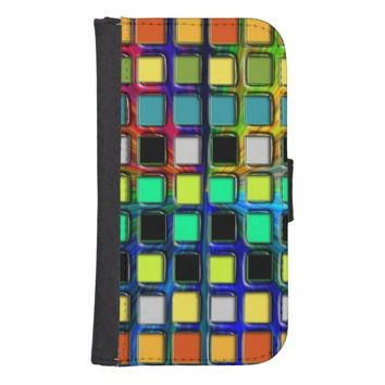 Colorful Grid-Tiled