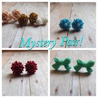 Mystery Pair of Earrings Random Pair of Earrings Perfect for Gift Giving Gift Under 10 Gifts for Mom