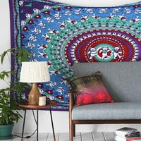 Grateful Dead Dancing Bear Tapestry - Urban Outfitters