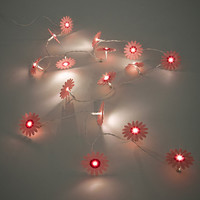 Posie String Lights in Pink - Urban Outfitters