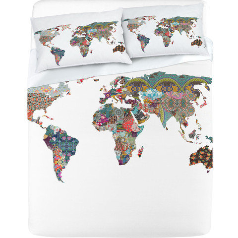 """Louis Armstrong Told Us So"" Sheet Set by Bianca Green 