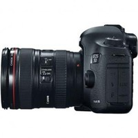 Canon EOS-5D Mark III Digital SLR Camera Body Kit with Canon EF 24-105L Image Stabilized Lens