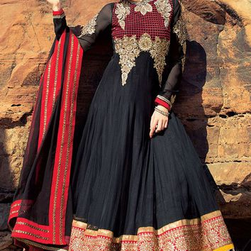Designer Floor Length Long Anarkali Suit