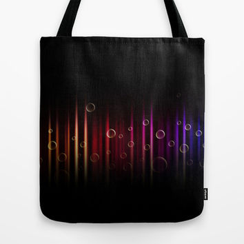 Bubbles and colors  Tote Bag by VanessaGF