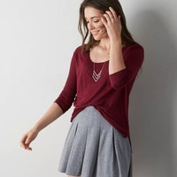AEO PLEATED CIRCLE SKIRT