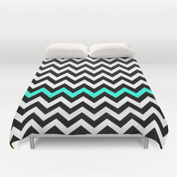 Classic Chevron #3 Duvet Cover by Ornaart