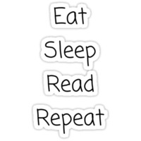 PipSqueak Tees - Eat Sleep Read Repeat
