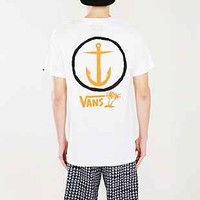 Captain Fin X Vans Anchor Tee - Urban Outfitters