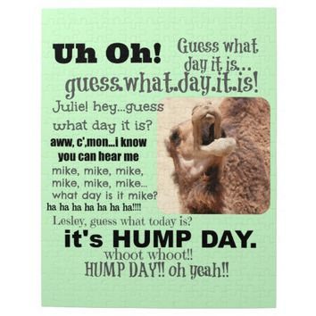 Fun Hump Day Camel Puzzle, Whoot!!