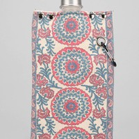 Tote+Able Paisley Print Canvas Flask - Urban Outfitters