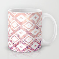 Diamond Blush Mug by Lisa Argyropoulos | Society6