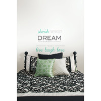 "Walmart: Wall Pops ""Cherish Dream Live"" Wall Quote Decal"