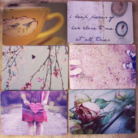 vintage indie postcard set by Violet Bella - &amp;#36;12.99 : ShopRuche.com, Vintage Inspired Clothing, Affordable Clothes, Eco friendly Fashion