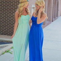Something Blue Maxi - Royal