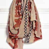 A Peace Treaty Warri Red Scarf : Eco Citizen Boutique